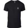 Waves Shirt Black Front